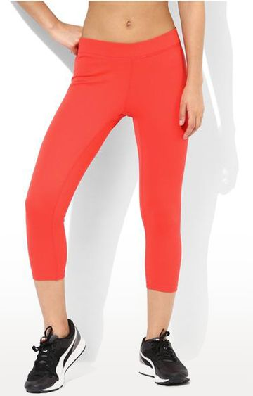 SilverTraq | Coral Solid Tights