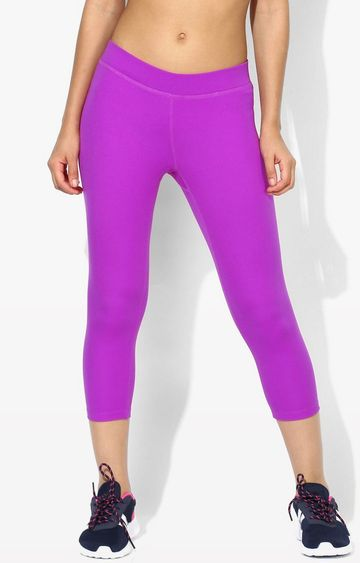 SilverTraq | Bright Violet Solid Tights