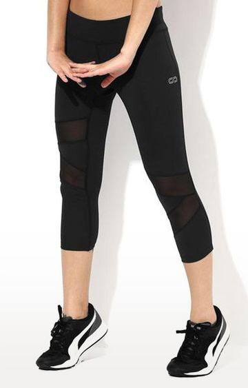 SilverTraq | Black Solid Tights
