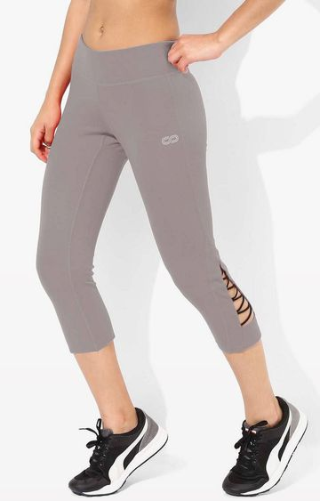 SilverTraq | Grey Solid Tights
