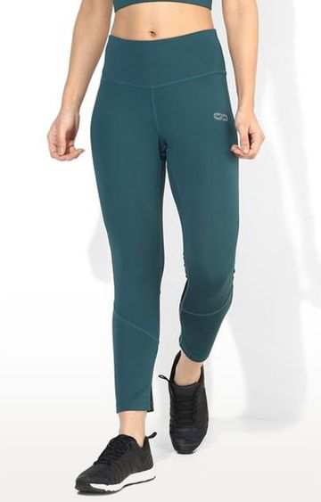 SilverTraq | Teal Colourblock Tights