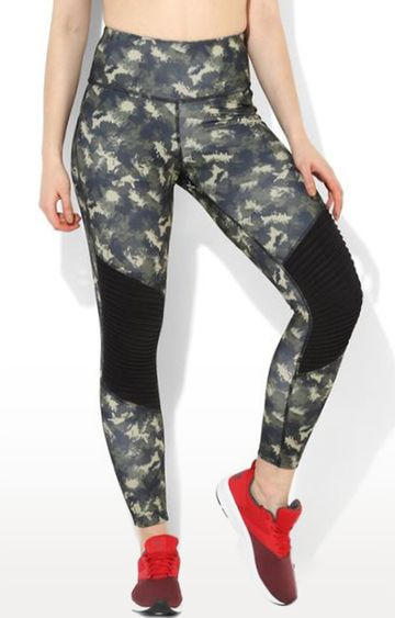 SilverTraq | Multicoloured Camouflage Tights