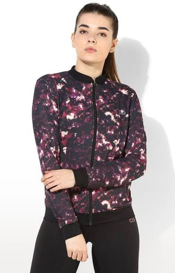 SilverTraq | Multicoloured Printed Activewear Jacket