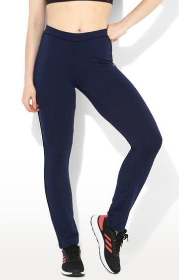 SilverTraq   Navy Solid Trackpants