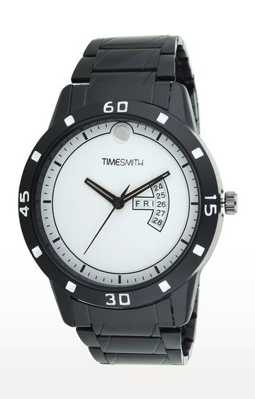 Timesmith | Timesmith Black Analog Watch For Men