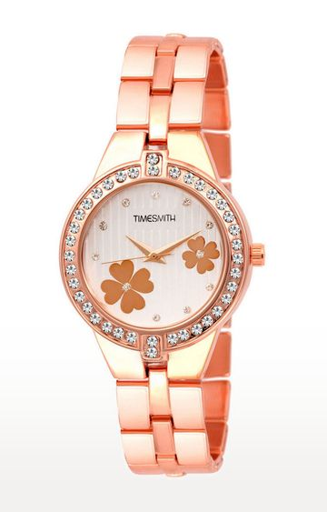 Timesmith | Timesmith Gold Analog Watch For Women