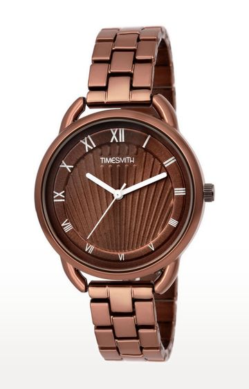 Timesmith | Timesmith Brown Analog Watch For Women