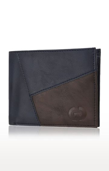 Greywood | Navy Blue Wallet
