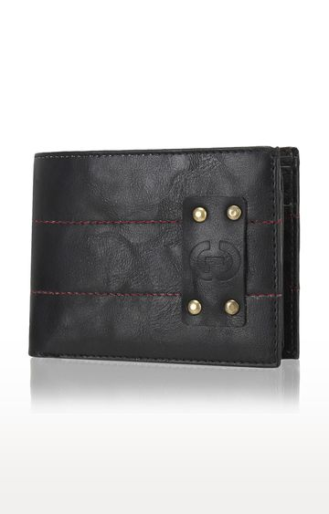 Greywood | Black Wallet