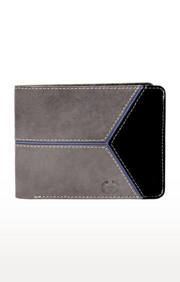 Greywood | Black and Grey Wallet
