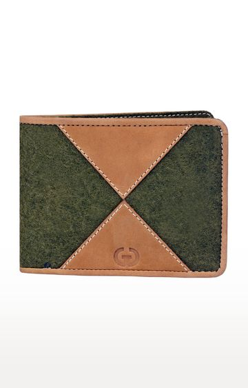 Greywood | Tan and Olive Wallet