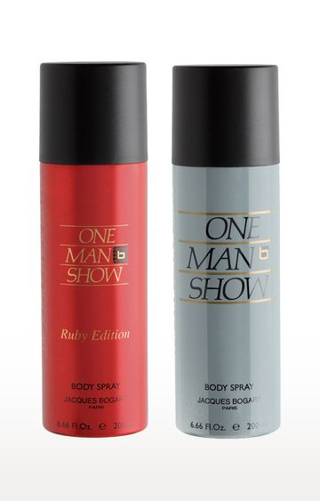 Jacques Bogart | One Man Show and Ruby Deo Combo Set of 2