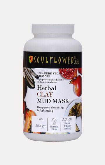 Soulflower   Herbal Clay Mud Mask
