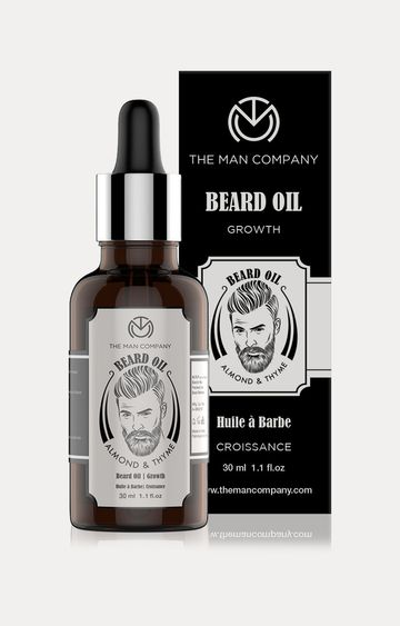 The Man Company | Almond and Thyme Beard Growth Oil - 30 ML