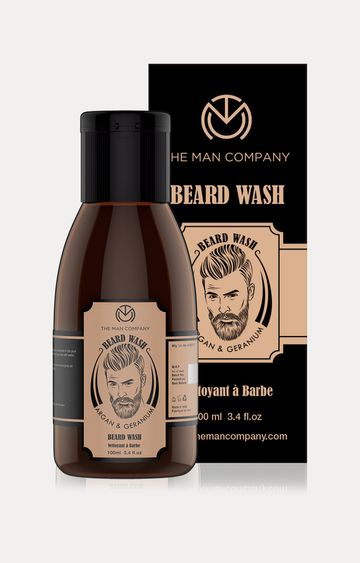 The Man Company | Argan and Geranium Beard Wash - 100 ML