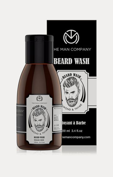 The Man Company | Almond and Thyme Beard Wash - 100 ML
