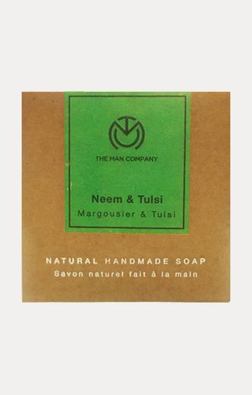 The Man Company | Neem & Tulsi Handmade Soap - 125 GM