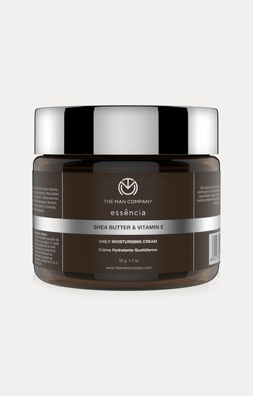 The Man Company | Shea Butter & Vitamin E Daily Moisturizing Cream - 50 GM
