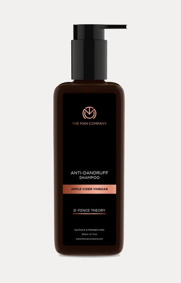 The Man Company | Apple Cider Vinegar Anti Dandruff Shampoo - 200 ML