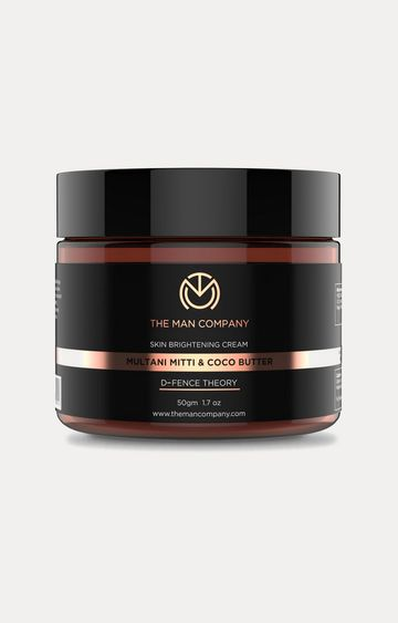 The Man Company | Multani Mitti and Coco Butter Skin Brightening Cream