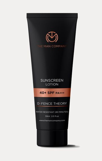 The Man Company | Water Registrant Sunscreen Lotion