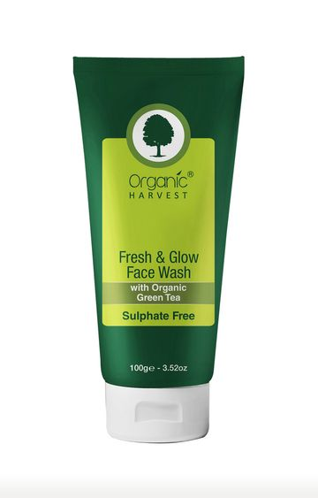 Organic Harvest | Fresh & Glow Sulphate Free Face Wash - 100ml