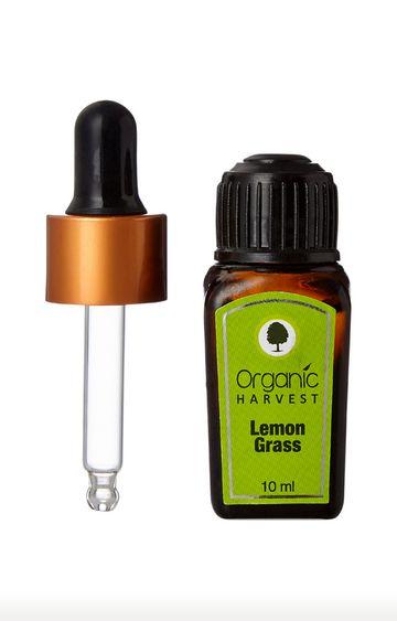 Organic Harvest   Lemon Grass Essential Oil - 10ml