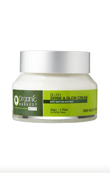 Organic Harvest | Activ Range Shine and Glow Cream - 50g
