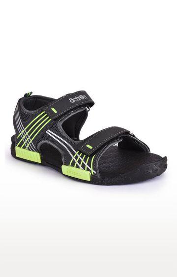 Action | Dark Green Sandals