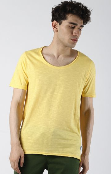 Blue Saint | Yellow Melange T-Shirt