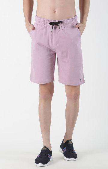 Blue Saint | Purple Solid Shorts