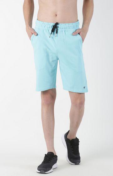 Blue Saint | Turquoise Solid Shorts