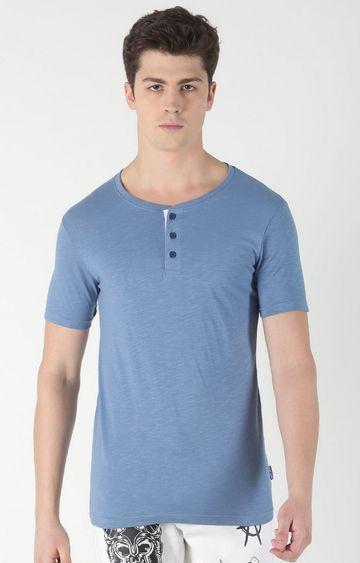 Blue Saint   Blue Melange T-Shirt