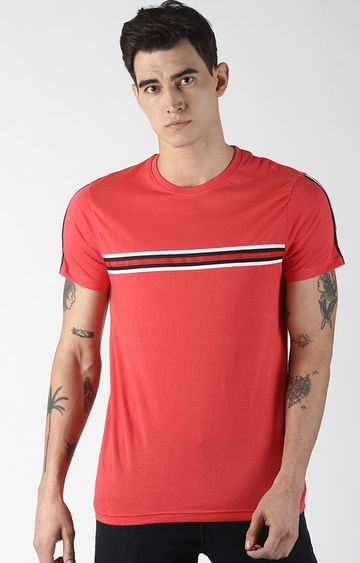 Blue Saint | Red Solid T-Shirt