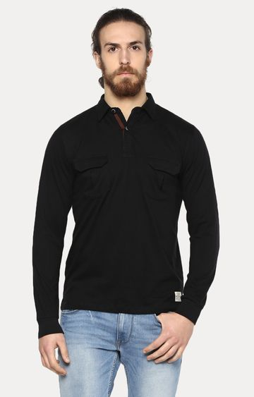 Cult Fiction   Black Solid T-Shirt