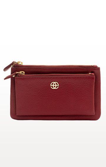 ESKE | Magenta Aleta Leather Wallet
