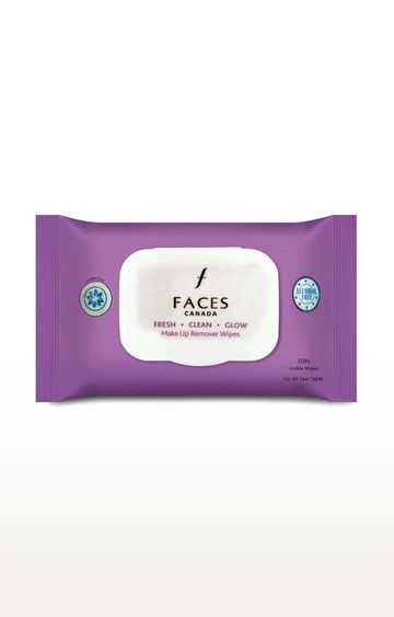 Faces Canada | Fresh Clean Glow Makeup Remover Wipes - 30