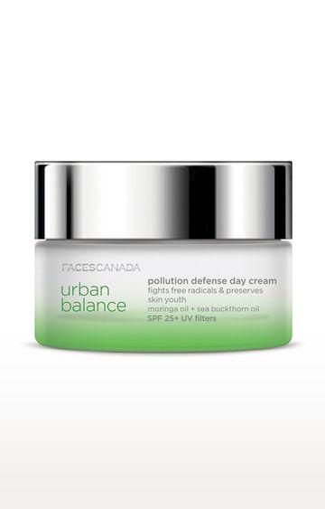 Faces Canada | Urban Balance Pollution Defense Day Cream - 50 GM