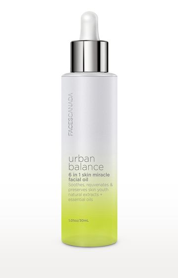 Faces Canada | Urban Balance 6 in 1 Skin Miracle Facial Oil - 30 ML