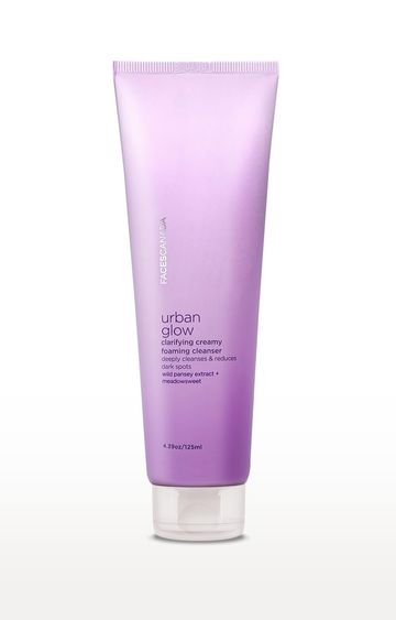 Faces Canada   White Urban Glow Clarifying Creamy Foaming Cleanser - 125 ML