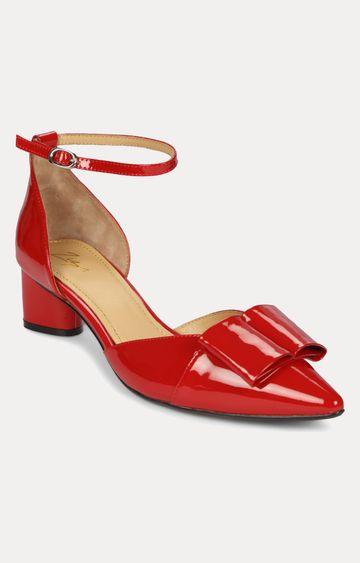 Florsheim | Red Block Heels