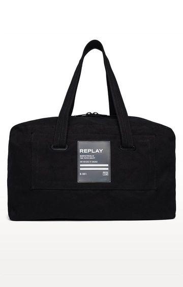 REPLAY | Black Duffle Bag