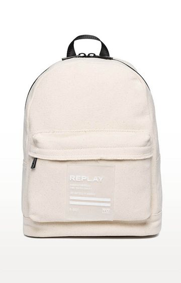 REPLAY | Off White Backpack