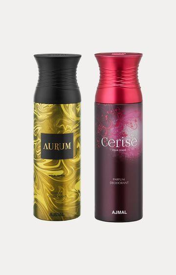 Ajmal | Aurum and Cerise Deodorants - Pack of 2