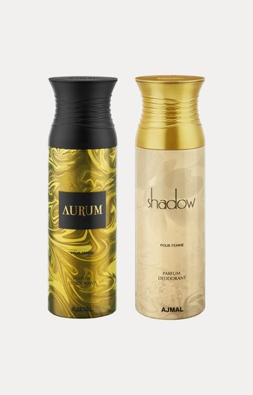 Ajmal | Aurum and Shadow Her Deodorants - Pack of 2