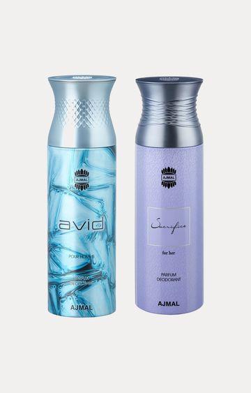 Ajmal | Avid and Sacrifice Her Deodorants - Pack of 2