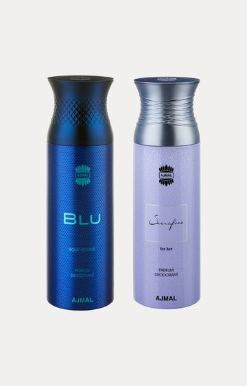 Ajmal | Blu and Sacrifice Her Deodorants - Pack of 2