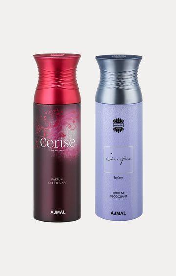 Ajmal | Cerise and Sacrifice Her Deodorants - Pack of 2