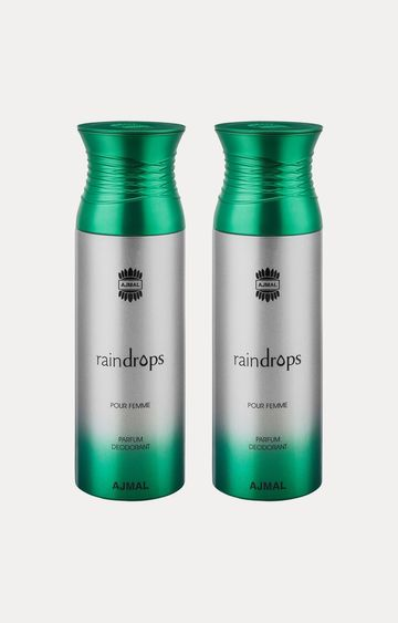 Ajmal | Raindrops Deodorants - Pack of 2