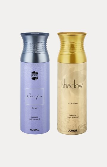 Ajmal | Sacrifice Her and Shadow Her Deodorants - Pack of 2